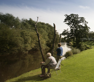 Fishing At Vyrnwy Holiday Home Park